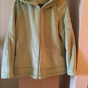 Kristen Blake lime green jacket